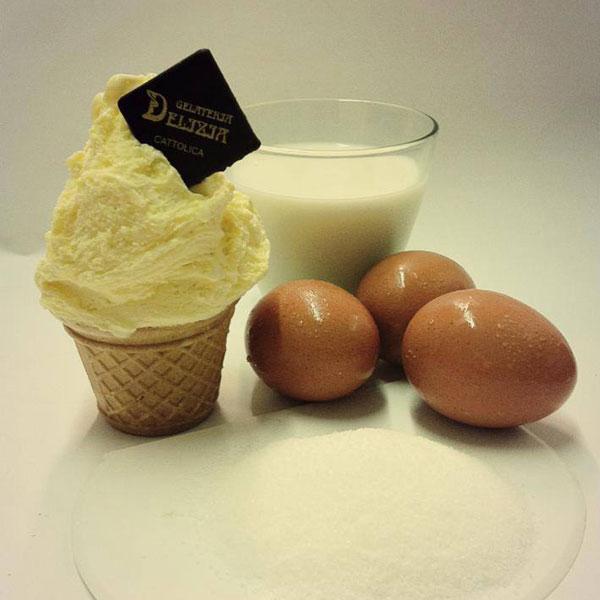 Uova, zucchero e latte...ecco la crema